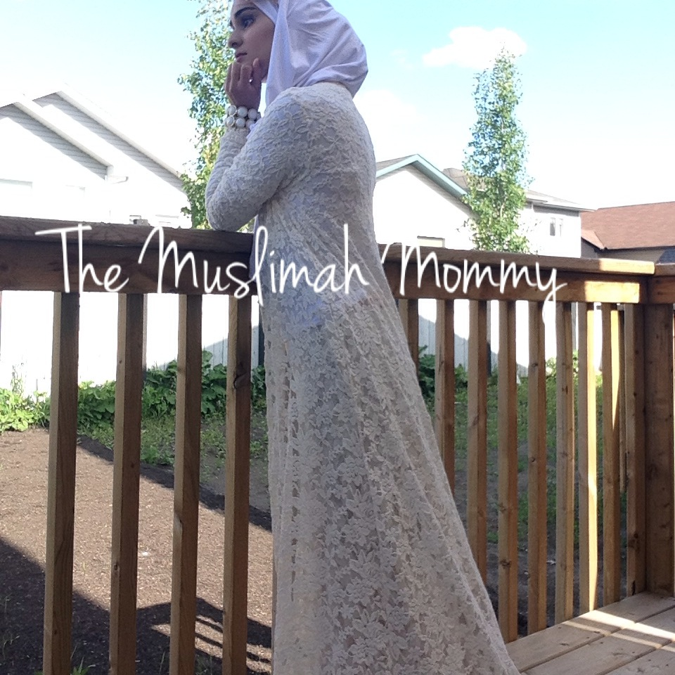 Lace Maxi Cardigan - The Muslimah Mommy